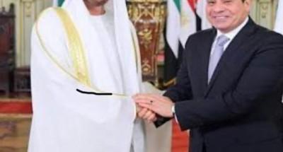 الإمارات تعلن تضامنها مع مصر