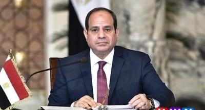 السيسي يبحث ملف ليبيا وسد النهضة في إطار دبلوماسي