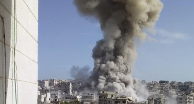 عاجل .. هجوم إرهابي على معسكر للجيش المصري في سيناء (صور)