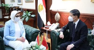 وزيرة الصحة: الاتفاق على أن تصبح مصر مركزا لتصنيع لقاح فيروس كورونا المستجد في القارة الأفريقية