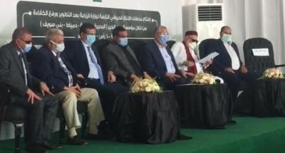 وزير الزراعة يفتتح 6 مزارع للإنتاج الحيواني بحضور آمنة وجمعة والصياد وفاروق