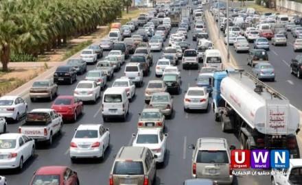 كثافات مرورية متحركة بمعظم محاور القاهرة والجيزة