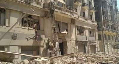عاجل .. «النيابة العامة» تباشر التحقيقات في واقعة انهيار عقار قصر النيل