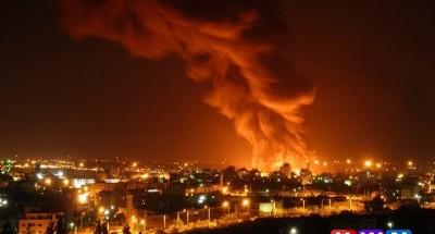 إسرائيل تحترق .. انفجار في مبنى من ثمانية طوابق بإيلات