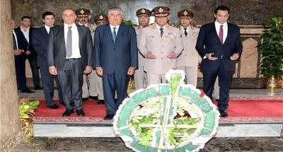 الرئيس السيسي ينيب وزير الدفاع لوضع إكليل زهور على ضريح الزعيم ناصر في ذكرى رحيله