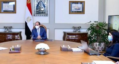 الرئيس يوجه بالتوسع في إقامة التجمعات التنموية في سيناء