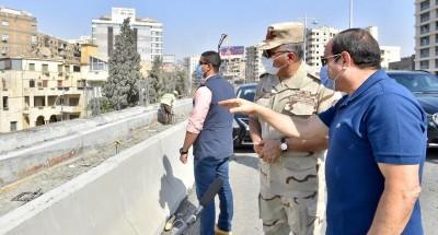 الرئيس السيسى يتفقد المواقع الانشائية للمشروعات في شرق القاهرة (فيديو)