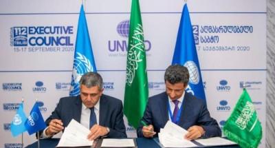 «السياحة العالمية» توقع اتفاقية إنشاء مكتبها الإقليمي في الرياض