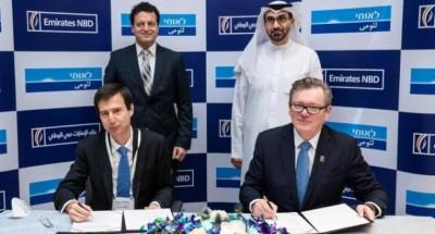 عاجل .. بنك الإمارات دبي الوطني يوقع مذكرة تفاهم مع بنك لئومي الإسرائيلي