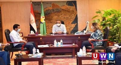 المحافظات   محافظ الفيوم يجتمع بمساعد وزير السياحة والآثار