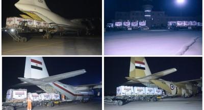 مصر تواصل الجسر الجوي لإرسال المساعدات للسودان وجنوب السودان