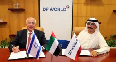 مذكرات تفاهم بين «موانئ دبي العالمية» و«دوفرتاور» الإسرائيلية لتعزيز التجارة