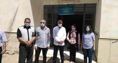 """الكشف وتقديم العلاج """" بالمجان """" لــ ١٠٠ مواطن بقرية باروط بمحافظة بني سويف"""