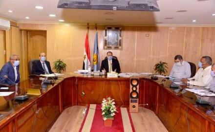 محافظ أسيوط يترأس اجتماع الخطة الاستثمارية لتنفيذ ربعها الأول