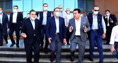 """""""رئيس الوزراء"""" يتجول في كلية علوم الثروة السمكية والمصايد بجامعة كفر الشيخ"""