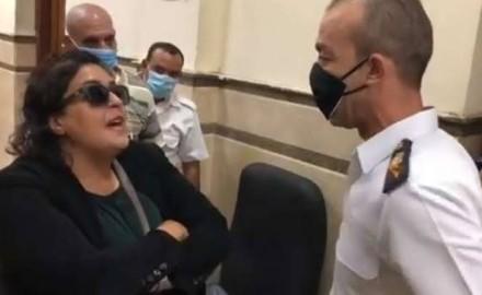 23 سبتمبر أولي جلسات محاكمة السيدة المتهمة بتهمة التعدي علي ضابط شرطة