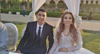 """دعاء عبد السلام تهنئ """"مايزين و أحمد"""" بمناسبة حفل زفافهما"""