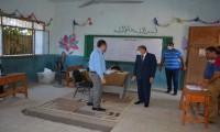 محافظ المنيا يتفقد عددًا من لجان انتخابات مجلس النواب
