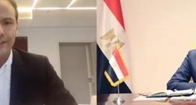"""وزير الاتصالات يجتمع مع نظيره """"الفرنسي"""" لتعزيز التعاون المشترك بين البلدين"""