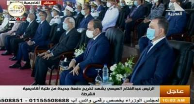 السيسي: شهداء الشرطة والجيش قدموا حياتهم تضحية من أجل 100 مليون مصري
