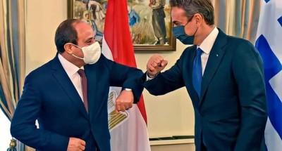 السيسي يؤكد حرص مصر على تفعيل أطر التعاون وتكثيف التشاور مع قبرص