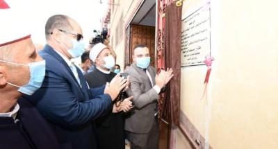 """""""محافظة الدقهلية""""ووزارة الاوقاف يفتتحان 5 مساجد جديدة بمراكز المحافظة"""