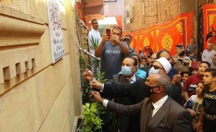 """""""محافظة الدقهلية"""" و""""وزارة الاوقاف"""" يفتتحا مسجدين جديدين بميت غمر وبني عبيد"""