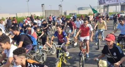 """""""وزير الرياضة"""" يطلق مهرجان الدراجات بمشاركة ٢٠ ألف شاب في محافظات الجمهورية"""