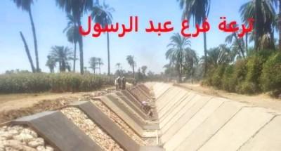 ملخص أعمال تأهيل الترع والقناطر بمحافظة أسيوط