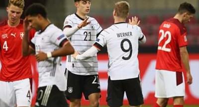"""فوز """"أوكرانيا"""" على """"أسبانيا"""".. وتعادل مثير بين """"سويسرا"""" و""""ألمانيا"""" بدوري الأمم الأوروبية"""