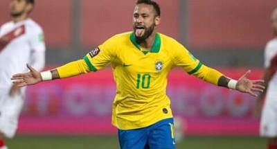 """""""البرازيل"""" تهزم """"بيرو"""" وتتصدر جدول ترتيب"""" تصفيات مونديال 2022″ …وليلة تاريخية """"لنيمار"""""""