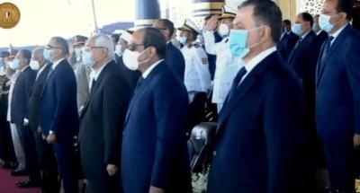 الرئيس السيسى يشهد حفل تخرج كلية الشرطة دفعة 2020
