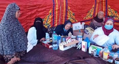 قوافل طبية وبيطرية بكفر الزيات ضمن 40 قافلة احتفالاً بالعيد القومي للغربية