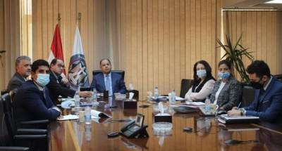 """""""وزير المالية"""" فى ثلاثة لقاءات عبر «الفيديو كونفرانس» ضمن اجتماعات «الخريف» لصندوق النقد الدولي"""