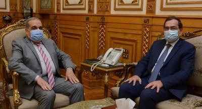 """وزيرا """" الإنتاج الحربى""""و""""البترول"""" يشهدا توقيع بروتوكول للتعاون فى عدد من المجالات"""