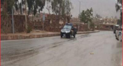 """إغلاق طريق """"رأس غارب-الشيخ فضل"""" بسبب الأمطار"""