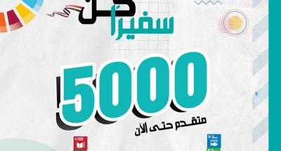 """""""التخطيط"""": 5 آلاف متقدم لمبادرة """"كن سفيرا"""" وآخر موعد للطلبات 14 نوفمبر"""