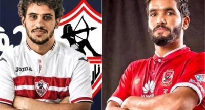 """""""عبد الله جمعة"""" يهدي """"صالح"""" هدية بمناسبة فوز الزمالك على الرجاء المغربي"""