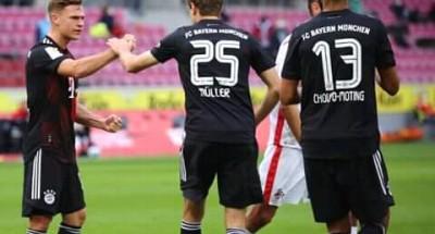 """""""بايرن ميونخ"""" يتصدر الدوري الألماني مؤقتا بعد فوزه على """"كولن"""""""