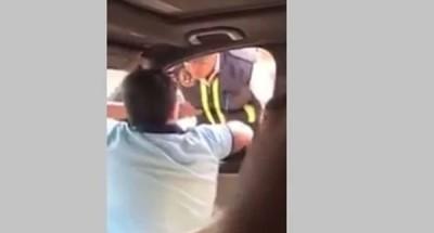 """""""النيابة العامة"""" تستجوب"""" الطفل المتعدي"""" على فرد شرطة بزهراء المعادي"""