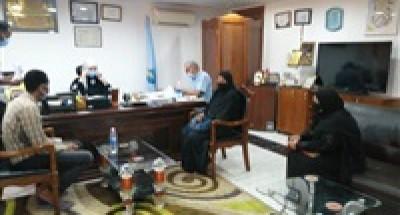 """""""رئيس مدينة سفاجا"""" تبحث شكاوى المواطنين في لقاءات متفرقة"""