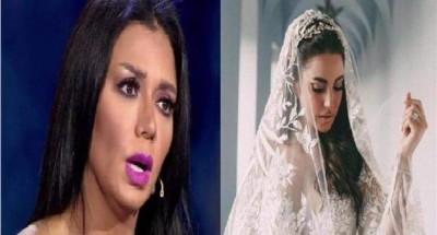"""""""رانيا يوسف"""" تهنئ «درة» على زواجها"""