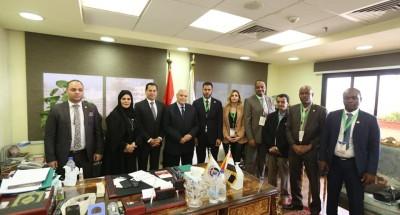 """""""وفد البرلمان العربي"""" يلتقي رئيس الهيئة الوطنية للانتخابات"""