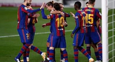 """""""برشلونة"""" ينهي سلسلة """"اللافوز"""" في """"الليجا"""" …ويسحق """"ريال بيتيس"""" بخماسية"""