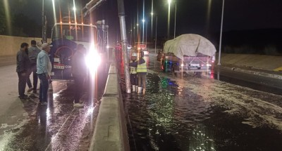 """انتشار معدات """"الصرف الصحي"""" بالقاهرة والجيزة للتعامل مع """"مياه الأمطار"""""""