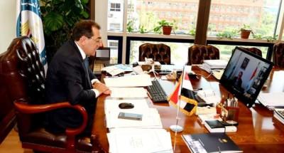 «وزير البترول »خلال الندوة الافتراضية عن مستقبل البترول والغاز المصري في فعاليات أسبوع مصر