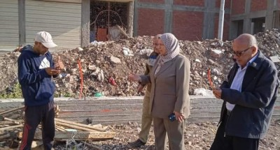 """""""محافظ الدقهلية"""" يكلف السكرتير المساعد بقيادة حملة لفحص مجموعة من الشكاوى الواردة بشأن مخالفات البناء"""