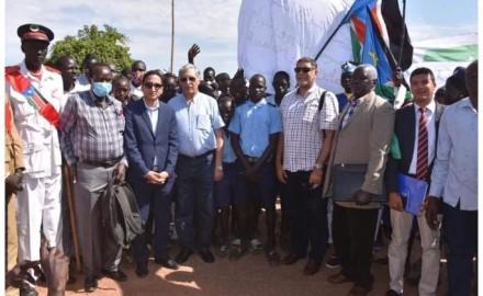 """وفد من""""جامعة الإسكندرية"""" يزور جنوب السودان"""