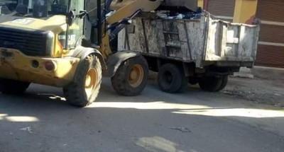 """""""محافظ الغربية"""" يتابع جهود المراكز والمدن في رفع المخلفات من الشوارع والميادين"""