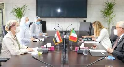 """""""وزيرة البيئة"""" تناقش مع """"السفير الإيطالي"""" بالقاهرة حول التنوع البيولوجي وتغير المناخ"""